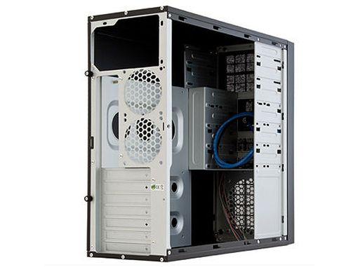 купить Case ATX Miditower Chieftec Mesh CQ-01B-U3-OP Black no PSU, 2xUSB 3.0, Mic-in, Audio-out (carcasa/корпус) в Кишинёве