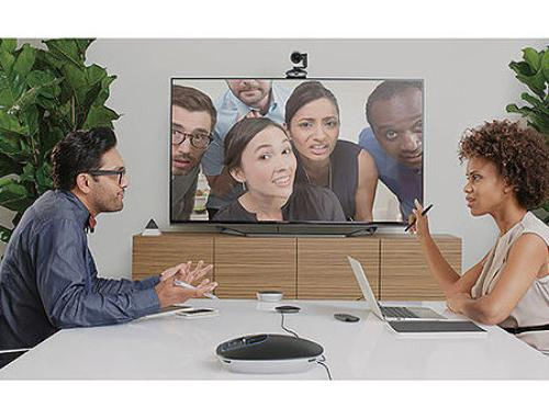 купить Logitech GROUP Video Conferencing System for mid to large rooms, Full HD 1080p 30fps, Smooth motorized pan, tilt and zoom, Full-duplex speakerphone, 960-001057 в Кишинёве