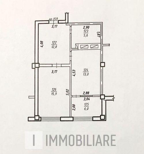 Apartament cu 1 cameră+living, sect. Botanica, str. Trandafirilor.