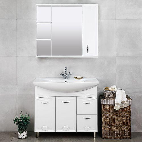 купить Deco One Шкаф белый Про под умывальник Zenon 970 в Кишинёве