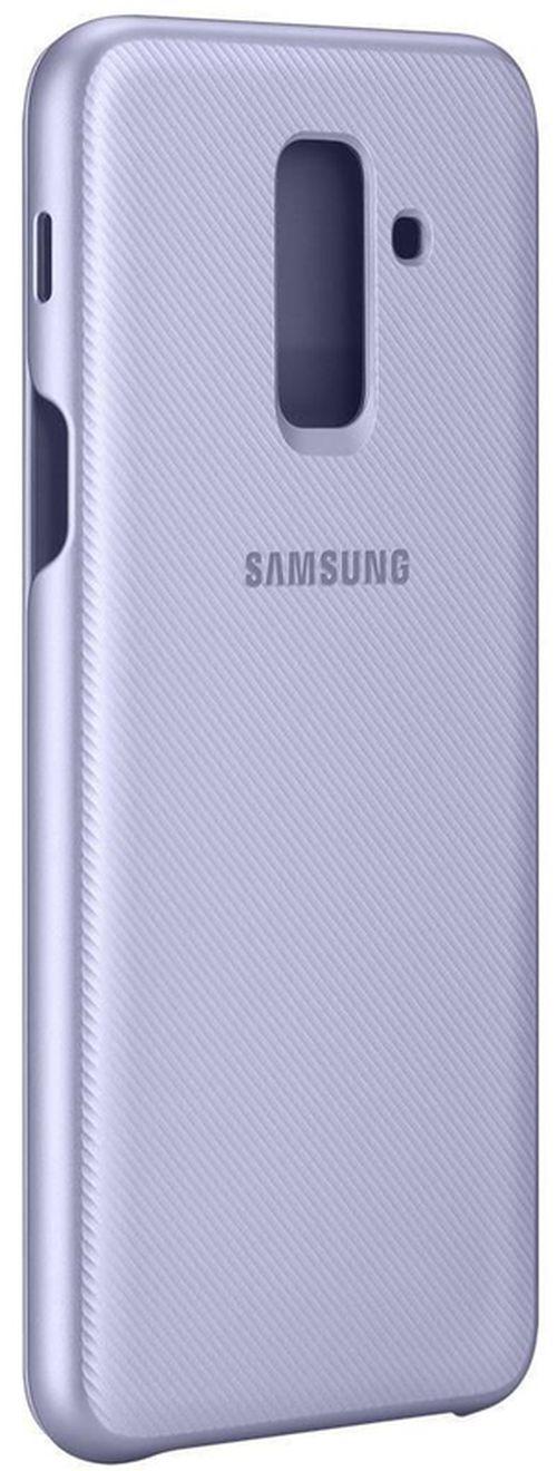 cumpără Husă telefon Samsung EF-WA605, Galaxy A6+, Flip Cover, Violet în Chișinău