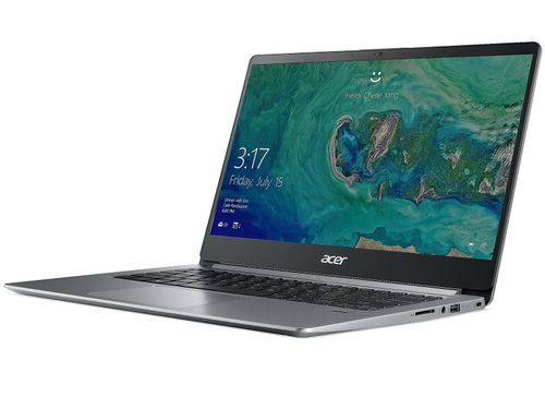 "купить ACER Swift 1 Sparkly Silver (NX.GXUEU.011), 14.0"" IPS FHD (Intel® Pentium® Silver N5000 4xCore up to 2.70 GHz, 8GB (1x8) DDR4 RAM, 256GB PCIe SSD, Intel® UHD Graphics 605, CR, WiFi-AC/BT, FPR, Backlit KB, 3cell, HD Webcam, RUS, Linux, 1.3kg, 15mm) в Кишинёве"