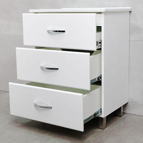 купить Novo Шкаф белый с умывальником Atria 650 в Кишинёве