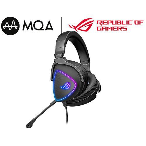 cumpără Casti gaming cu fir ASUS Gaming Headset ROG Delta S, USB-C, AI noise-canceling mic, MQA rendering technology, Hi-Res ESS 9281 QUAD DAC, Headphones 20 ~ 40000 Hz, Mic 100 ~ 10000 Hz, Virtual 7.1, RGB lighting în Chișinău