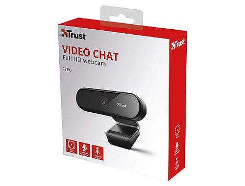 купить Trust Tyro Full HD Webcam, Full HD 1080p resolution and auto-focus, tripod, 1,5m, USB в Кишинёве