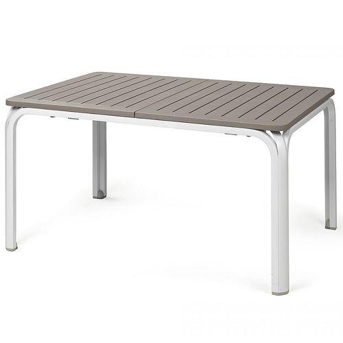 купить Стол раздвижной Nardi ALLORO 140 EXTENSIBLE TORTORA-vern. Bianco 42753.10.000 (Стол раздвижной для сада и террасы) в Кишинёве