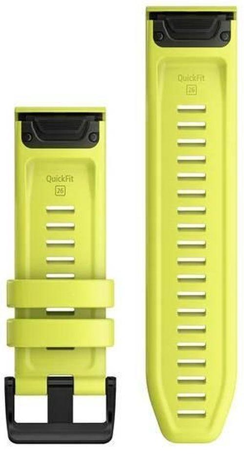 cumpără Accesoriu pentru aparat mobil Garmin QuickFit fenix 6X 26mm Amp Yellow Silicone Band în Chișinău