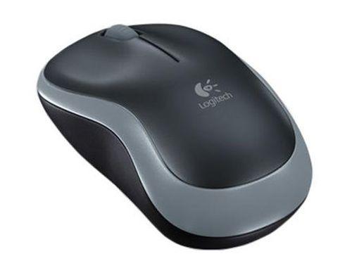 купить Logitech M185 Grey Wireless Mouse Swift, USB, 910-002238 (mouse fara fir/беспроводная мышь) в Кишинёве