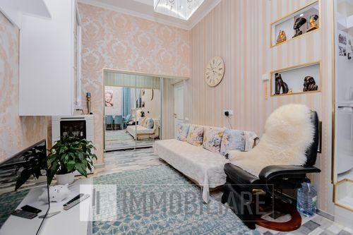 Apartament cu 3 camere+living, sect. Ciocana, bd. Mircea cel Bătrîn.