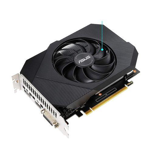 купить Видеокарта ASUS PH-GTX1650-O4GD6, GeForce GTX1650 4GB GDDR6, 128-bit, GPU/Mem clock 1635/12002MHz, PCI-Express 3.0, DVI/HDMI/Display Port (placa video/видеокарта) в Кишинёве