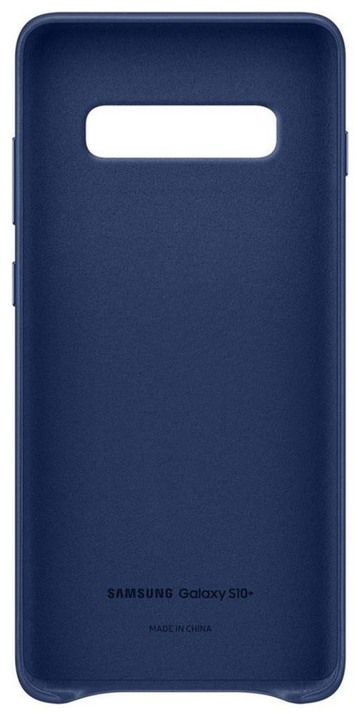 cumpără Husă pentru smartphone Samsung EF-VG975 Leather Cover S10+ Blue în Chișinău