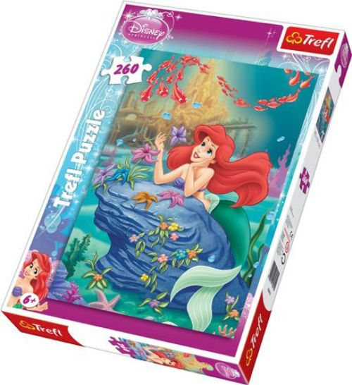 "cumpără 13072 Trefl Puzzles - ""260"" - The little Mermaid / Disney Princess în Chișinău"