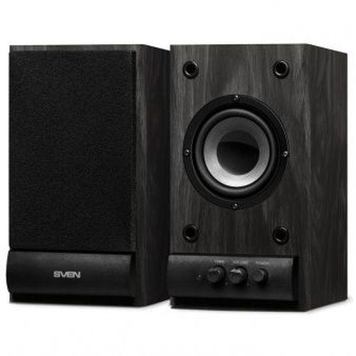 """купить SVEN SPS-608 Black,  2.0 / 2x3W RMS, wooden, 3"""" в Кишинёве"""
