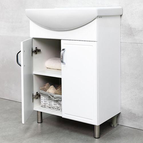 купить Lagos шкаф белый с умывальником Cersania 600 в Кишинёве