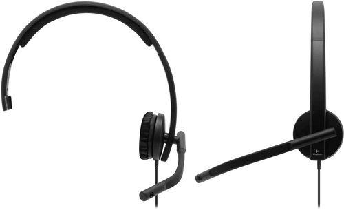 cumpără Cască cu microfon Logitech H570e Black în Chișinău