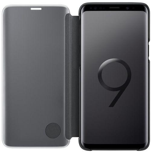купить Чехол для моб.устройства Samsung EF-ZG960, Galaxy S9, Clear View Standing Cover, Black в Кишинёве