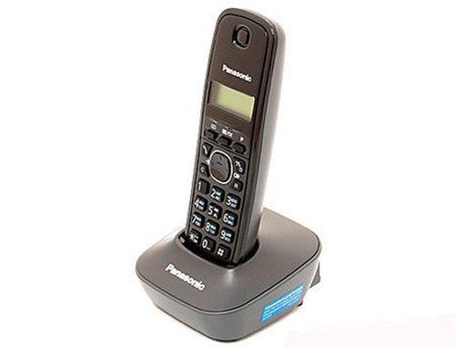 купить Dect Panasonic KX-TG1611UAH, Grey, AOH, Caller ID (telefon fara fir DECT/ DECT телефон) в Кишинёве