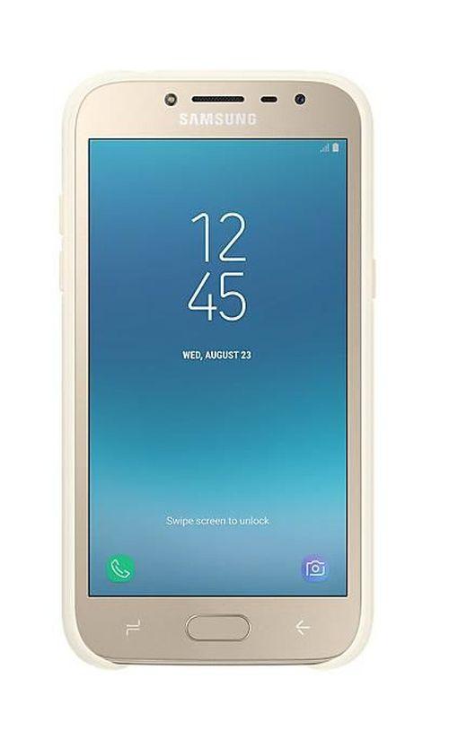 cumpără Husă pentru smartphone Samsung EF-AJ250, Galaxy J2 2018, Jelly Cover, Gold în Chișinău