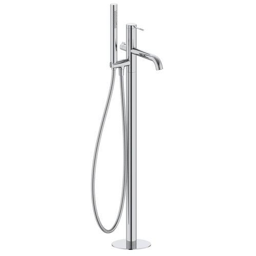 BRENTA смеситель для ванны отдельностоящий, хром, 35 мм (ванная комната)
