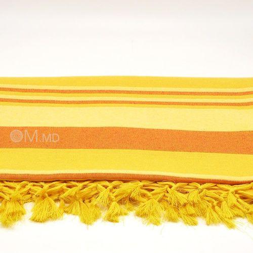 """купить Покрывало """"Yellow"""", 65% хлопок 35% полиэстер, 225х260 см в Кишинёве"""