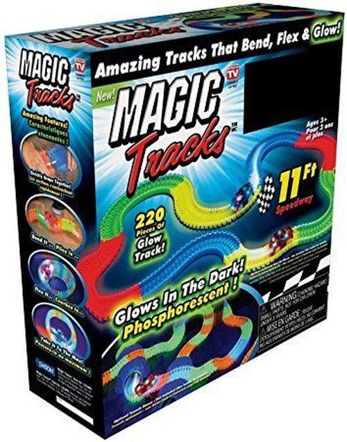 купить Гибкая трасса Magic Tracks, 220 деталей, 1 машинка в Кишинёве
