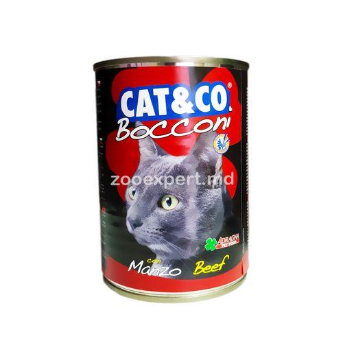 купить Cat & Co кусочки говядины 405 gr в Кишинёве