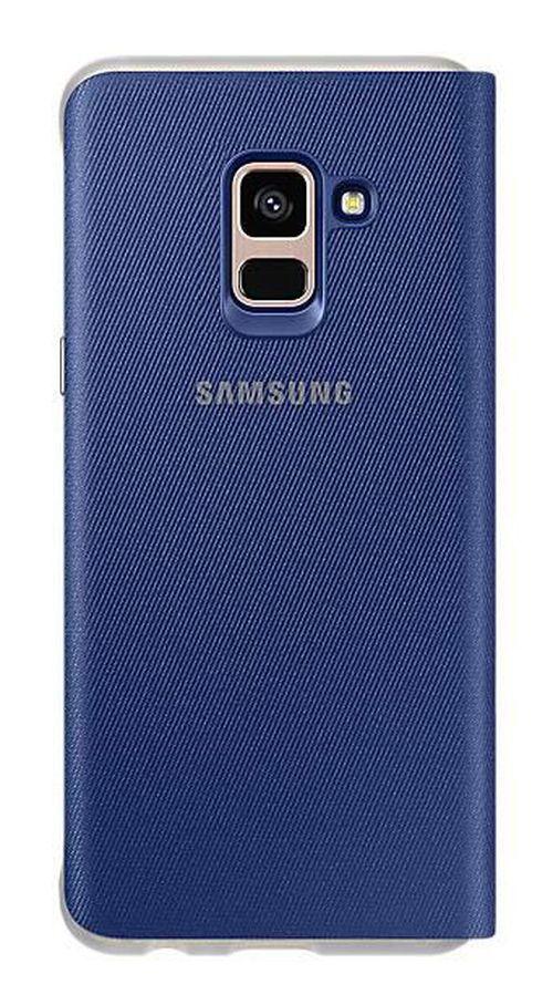 cumpără Husă pentru smartphone Samsung EF-FA730, Galaxy A8+ 2018, Neon Flip Cover, Blue în Chișinău