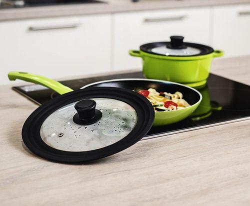 cumpără Accesoriu pentru bucătărie Xavax 111544 Универсальная крышка с отверстием для пара , 16 ,18 ,20 см, стекло în Chișinău