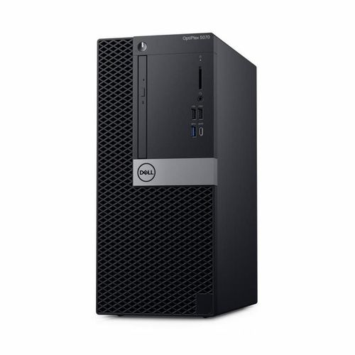 купить DELL OptiPlex 5070 MT (lnteI® Core® i7-9700, 8GB DDR4 RAM, 256GB SSD, DVD-RW, lnteI® UHD630 Graphics, TPM, 260W PSU, USB mouse and KB MS116, Win 10 Pro, Black) в Кишинёве