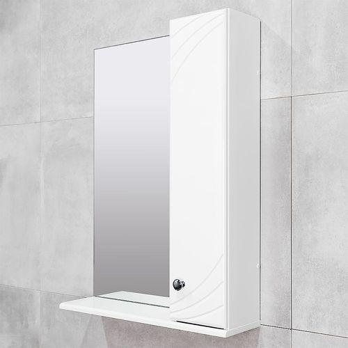 купить Brio Шкаф-зеркало белое 600 R в Кишинёве