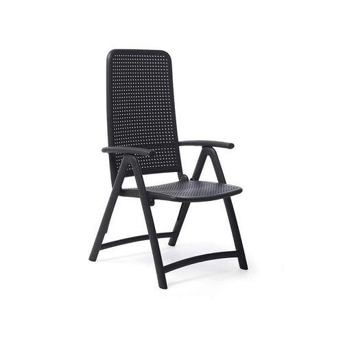 купить Кресло складное Nardi DARSENA ANTRACITE 40316.02.000 (Кресло складное для сада и террасы) в Кишинёве