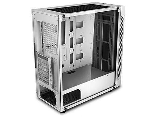 купить Case Middletower Deepcool MATREXX 55 V3 ADD-RGB WH ATX White no PSU, Side & Front panel Tempered glass, 1xUSB3.0/2xUSB2.0/AudioHD x 1/Mic x 1 (carcasa/корпус) в Кишинёве