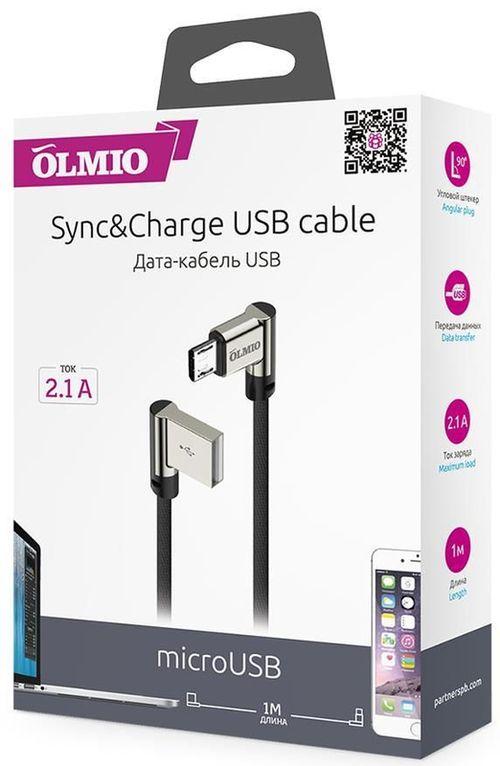 cumpără Cablu telefon mobil Partner 38867 USB 2.0 microUSB, 1.0м în Chișinău