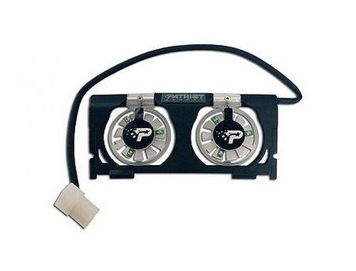 купить Patriot Memory Active Cooling Fan, 2 x fans 40mm, 5000rpm (ventilator pentru module de memorie/вентилятор для модулей памяти) в Кишинёве