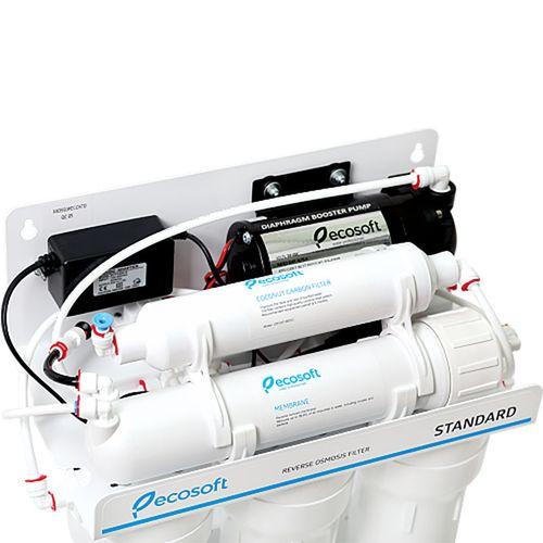 купить Фильтр обратного осмоса Ecosoft Standart с минерализатором и насосом в Кишинёве