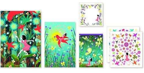 купить Violette Stationery Set by Djeco в Кишинёве
