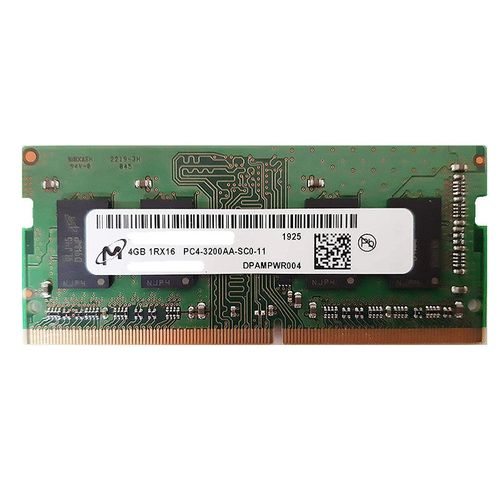 купить 4GB SODIMM DDR4 Micron MTA4ATF51264HZ-3G2J1 PC4-25600 3200MHz CL19, 1.2V в Кишинёве