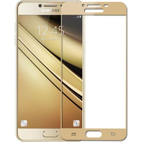 cumpără Folie de protecție Screen Geeks Glass Pro Galaxy J5(2017), Gold în Chișinău
