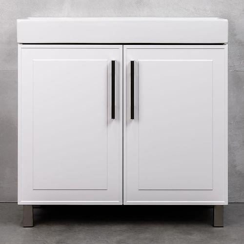 купить Porto Шкаф белый структурный Дуо под умывальник Stance 850 в Кишинёве