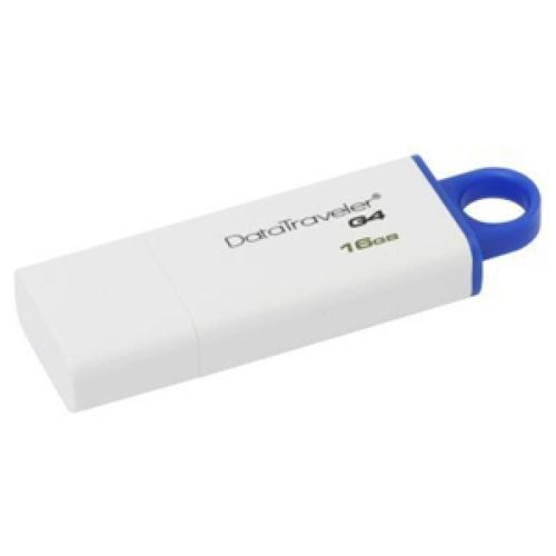 купить Kingston DataTraveler Generation 4 (G4) 16GB White/Blue, USB3.0 в Кишинёве