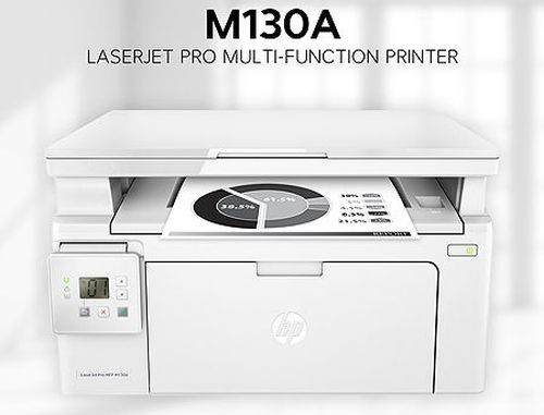 купить HP LaserJet Pro MFP M130a Mono Printer/Copier/Color Scanner, A4, Up to 600 x 600 dpi, HP FastRes 1200 (1200 dpi quality), 22 ppm, 128Mb, USB 2.0, Cartridge CF217A HP 17A(1600 pages), Starter cartridge 700 pages в Кишинёве