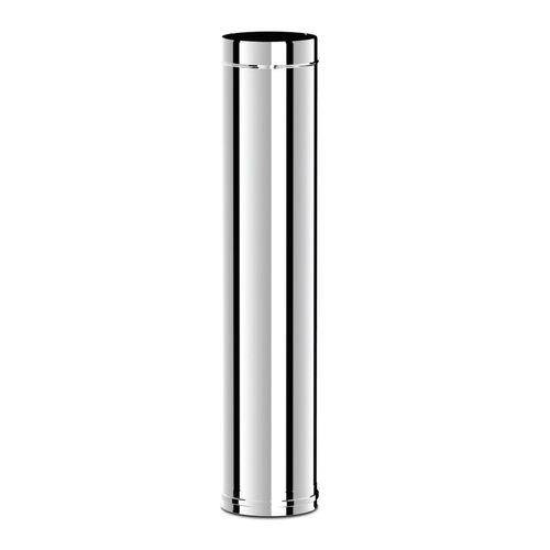купить Ø130 Труба дымоходная 1000 mm (inox 304) в Кишинёве
