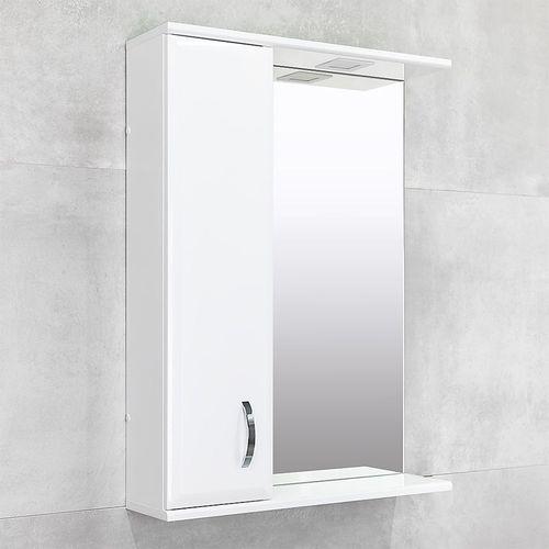 cumpără Dulap-oglindă Tory albă crom 600 L în Chișinău