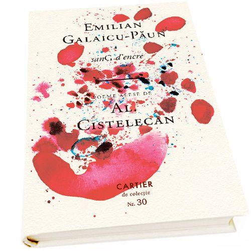 купить SanG d'encre - Избранные стихи Ал. Кистелекан - Эмилиан-Галаику Пэун в Кишинёве