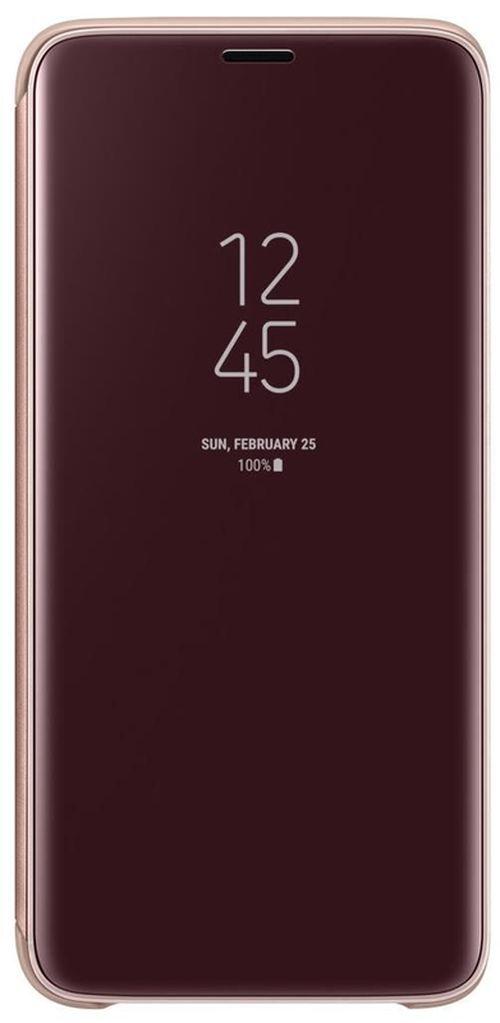 cumpără Husă pentru smartphone Samsung EF-ZG960, Galaxy S9, Clear View Standing Cover, Gold în Chișinău