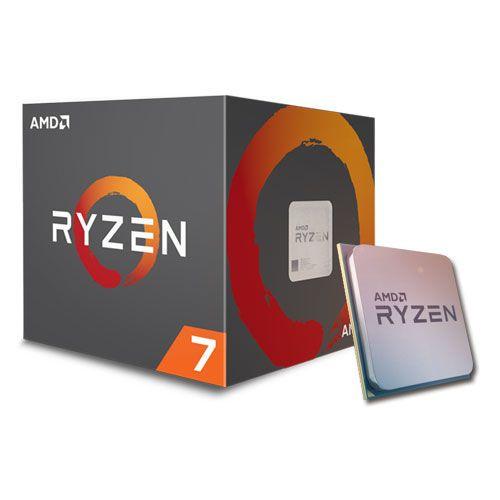 cumpără AMD Ryzen 7 1700 (8C/16T), Socket AM4, 3.0-3.7GHz, 16MB L3, 14nm 65W, BOX (with Wraith Spire 95W Cooler) în Chișinău