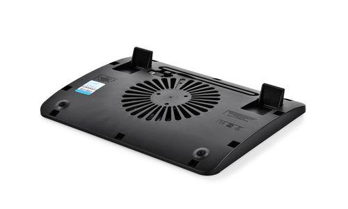"""cumpără DEEPCOOL """"WIND PAL MINI"""", Notebook Cooling Pad up to 15.6"""", 1 fan - 140mm  Blue LED, 1000rpm, <21.6 dBA, 46.1CFM,  slim design, Metal Mesh Panel, Black în Chișinău"""