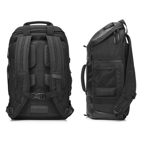 "cumpără HP NB Backpack 15.6"" Odyssey Backpack, Contoured and punctuated with distinctive contrasting external colors, trend-forward design unveils a unique digitized camouflage lining, providing a tactically modern appeal with fashionable durability, Black în Chișinău"