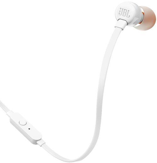 cumpără Cască cu microfon JBL T110 White în Chișinău