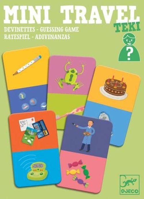 купить Teki - Guessing Mini Travel Game by Djeco в Кишинёве